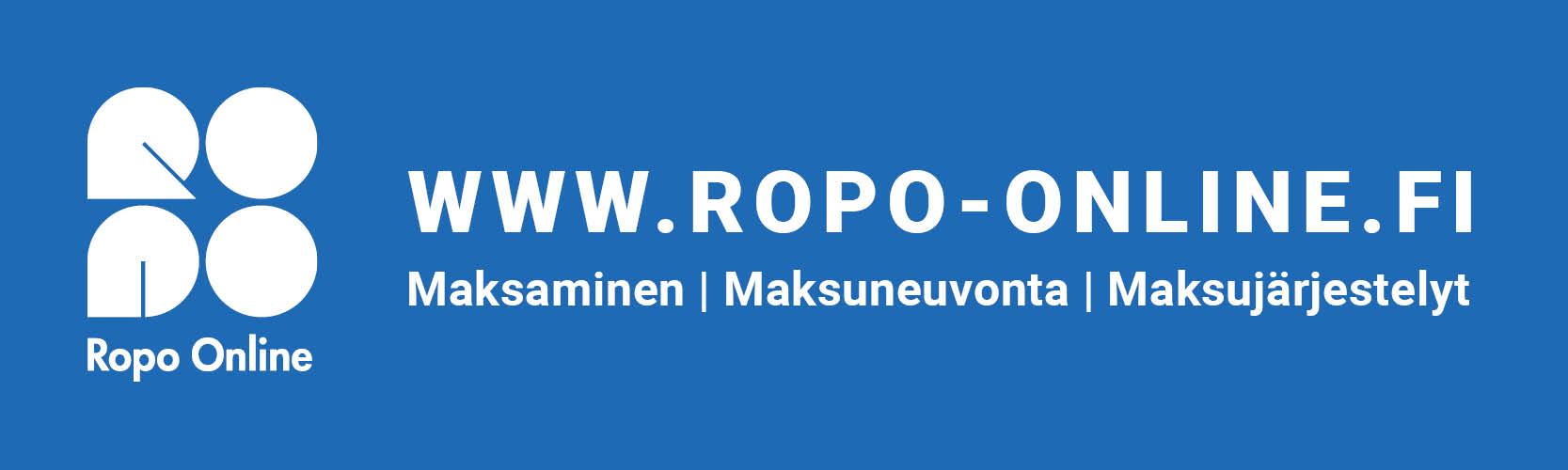 Ropo Capital - Ropo Online 400 x 120 sharp blue